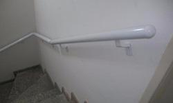 Corrimão de parede em alumínio