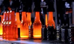 Fabricação de garrafas de vidro