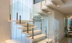 Guarda corpo vidro escada