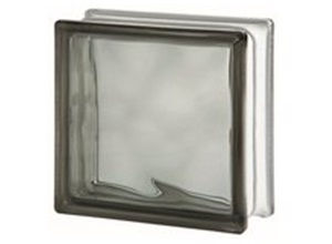 bloco de vidro fumê