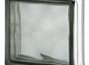 bloco de vidro ondulado
