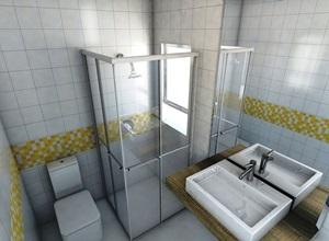 box banheiro acrílico