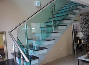 corrimão da escada