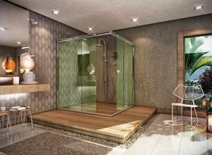 cortinas para box de banheiro