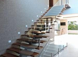 guarda corpo em escada
