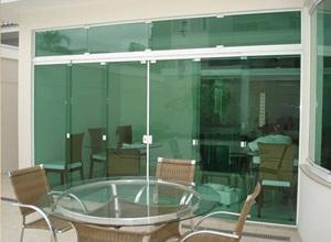 porta de vidro preço m2