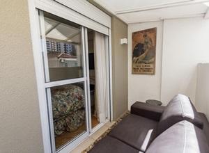 porta de vidro varanda