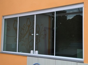 preço de janela de vidro