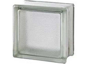 tijolo de vidro retangular