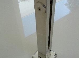 torre de inox para guarda corpo