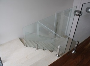 torre de inox para vidro