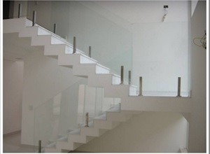 vidro para escada