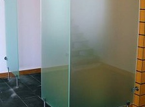 vidro temperado fosco