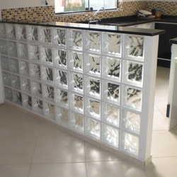 Bloco de tijolo de vidro