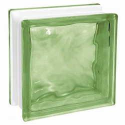 bloco de vidro wave
