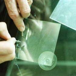 conserto de vidro trincado