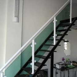 corrimão de alumínio para escada