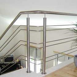 corrimão de inox para escada