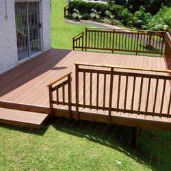 corrimão de madeira para varanda