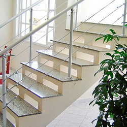 Corrimão escada ferro