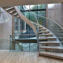 escada vidro