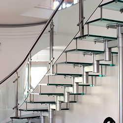 Escadas em inox