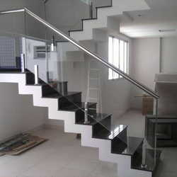 guarda corpo de inox para escada