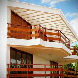 guarda corpo de madeira para varanda