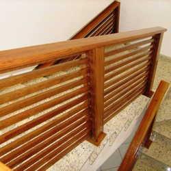 guarda corpo de madeira preço