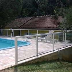 guarda corpo de vidro para piscina