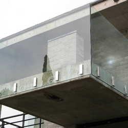 guarda corpo de vidro sacada