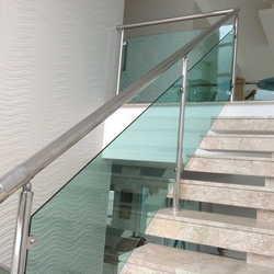 Guarda corpo para escada