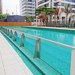 Guarda corpo piscina
