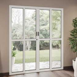 janela porta de vidro