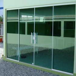 Loja de porta de vidro