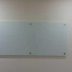 placa de vidro temperado