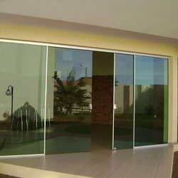 porta de vidro barata