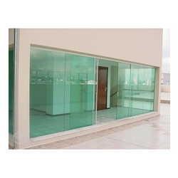 Portas é janelas de vidro blindex