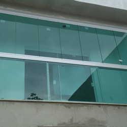 varanda vidro temperado