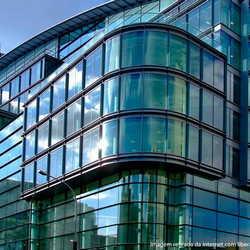 vidro construção civil