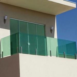 Janela de vidro com grade preço